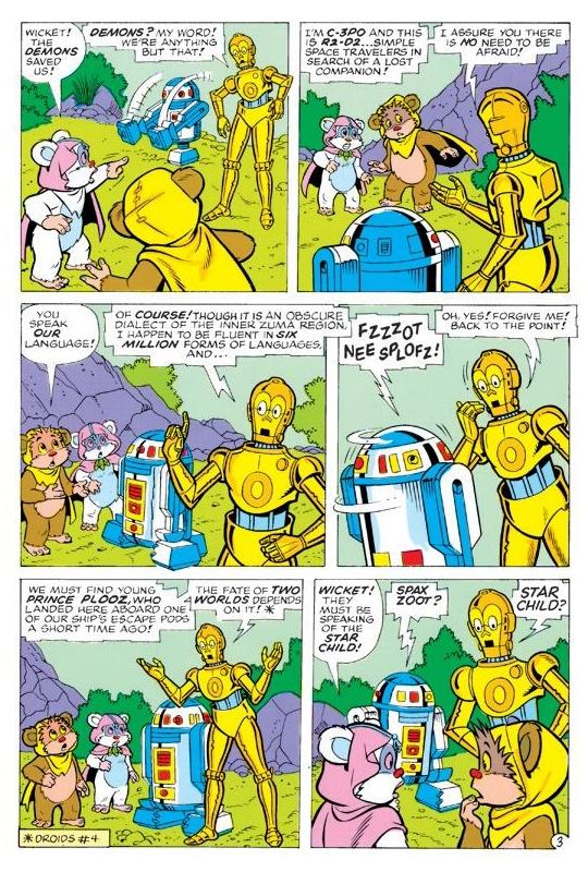 Comic - Droids - C-3PO dorado