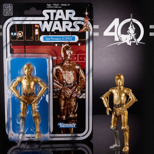 C-3PO - Kenner - Black Series - Pierna plateada