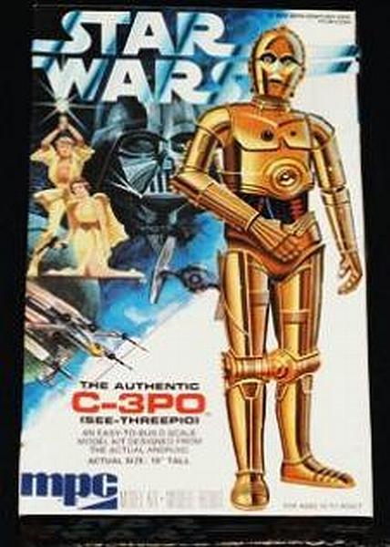C-3PO - Kit para armar - 1977