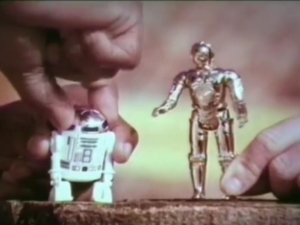 C-3PO - Kenner comercial - 1978