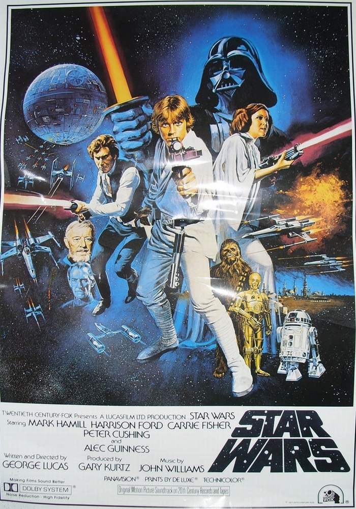 Star Wars - Ep IV - Poster