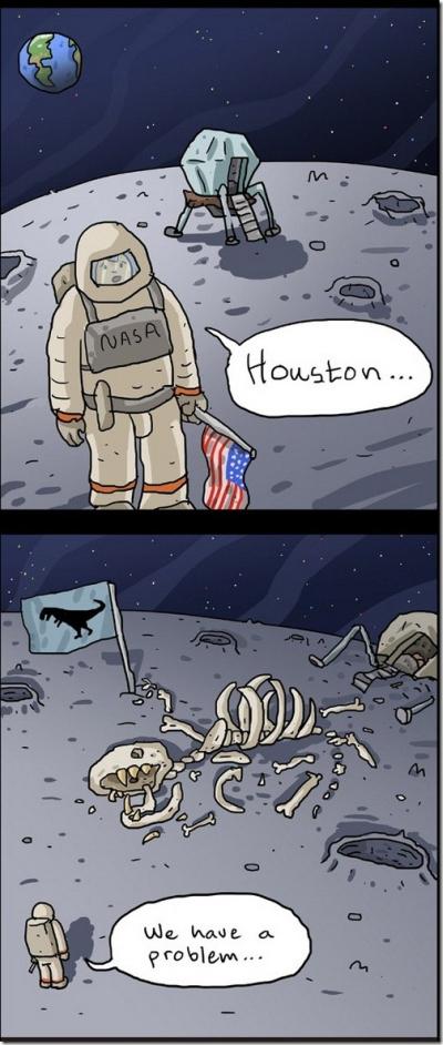 Apollo 13 - Meme - Dinosaurios