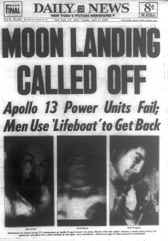 Apollo 13 - Periódico
