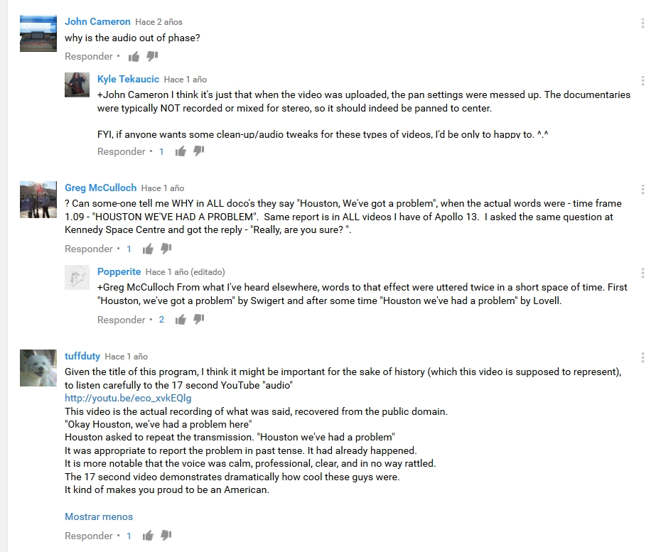 Apollo 13 - YouTube - We've Got a Problem - 2