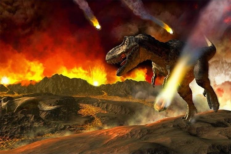Asteroide - Extinción de los Dinosaurios - 1
