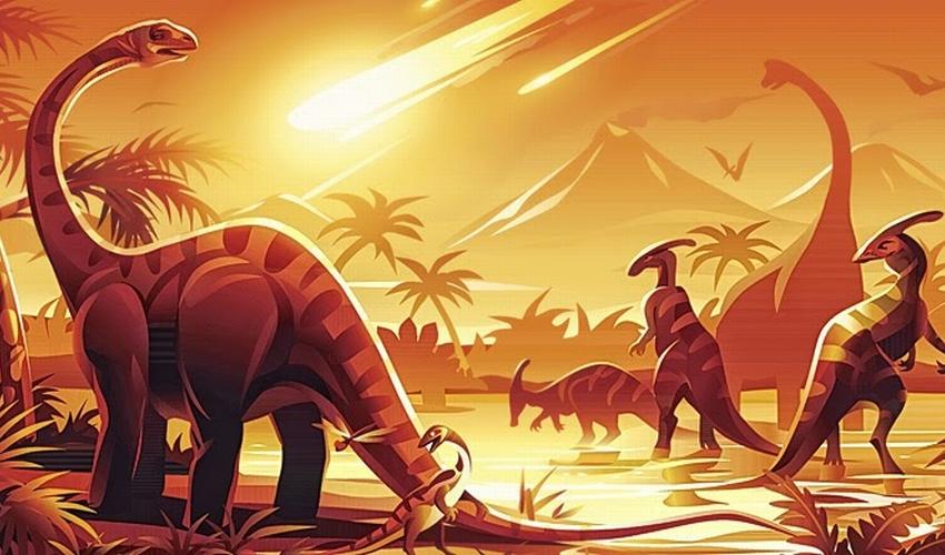 Asteroide - Extinción de los Dinosaurios - 2