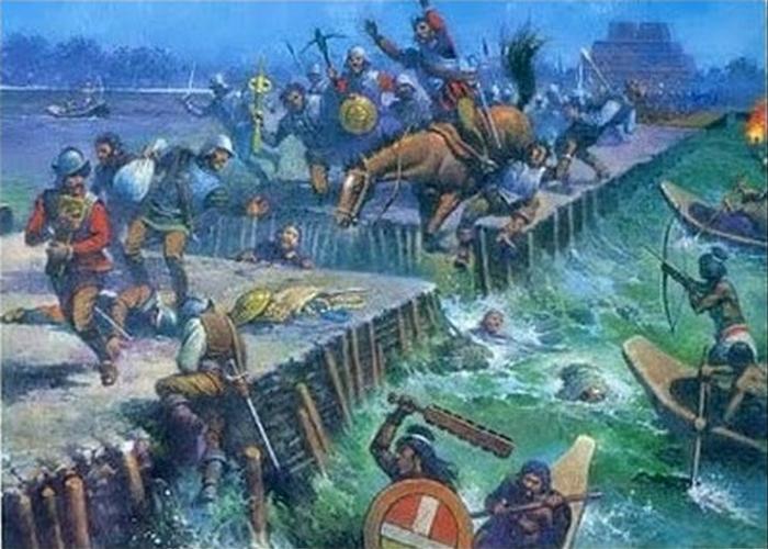 Aztecas VS Espanoles 2
