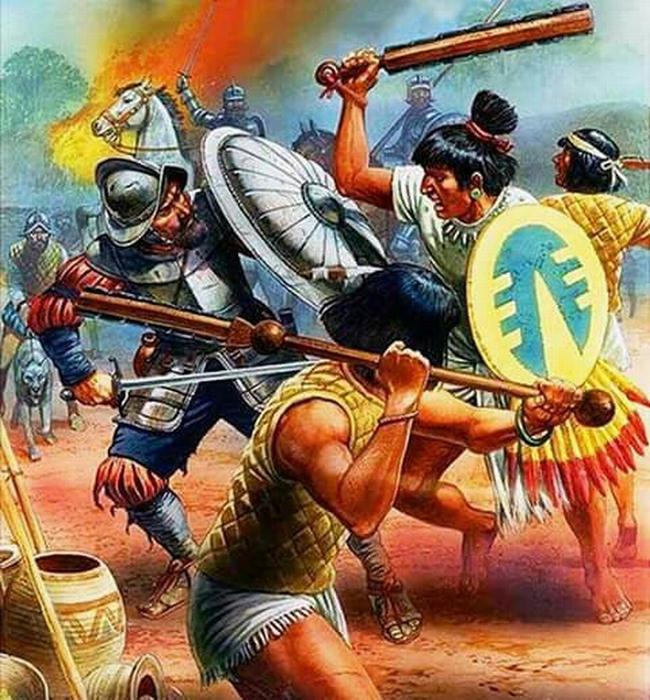 Aztecas VS Espanoles