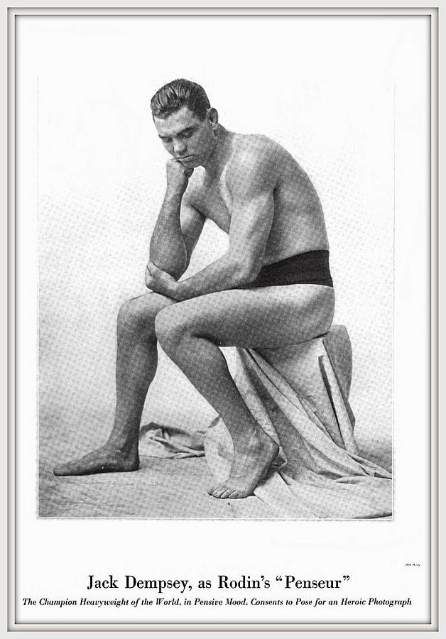 Boxeador Jack Dempsey - El Pensador