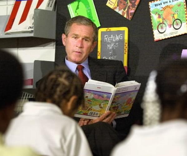 Bush leyendo - 9/11