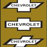 Logo de Chevrolet -Antes y ahora