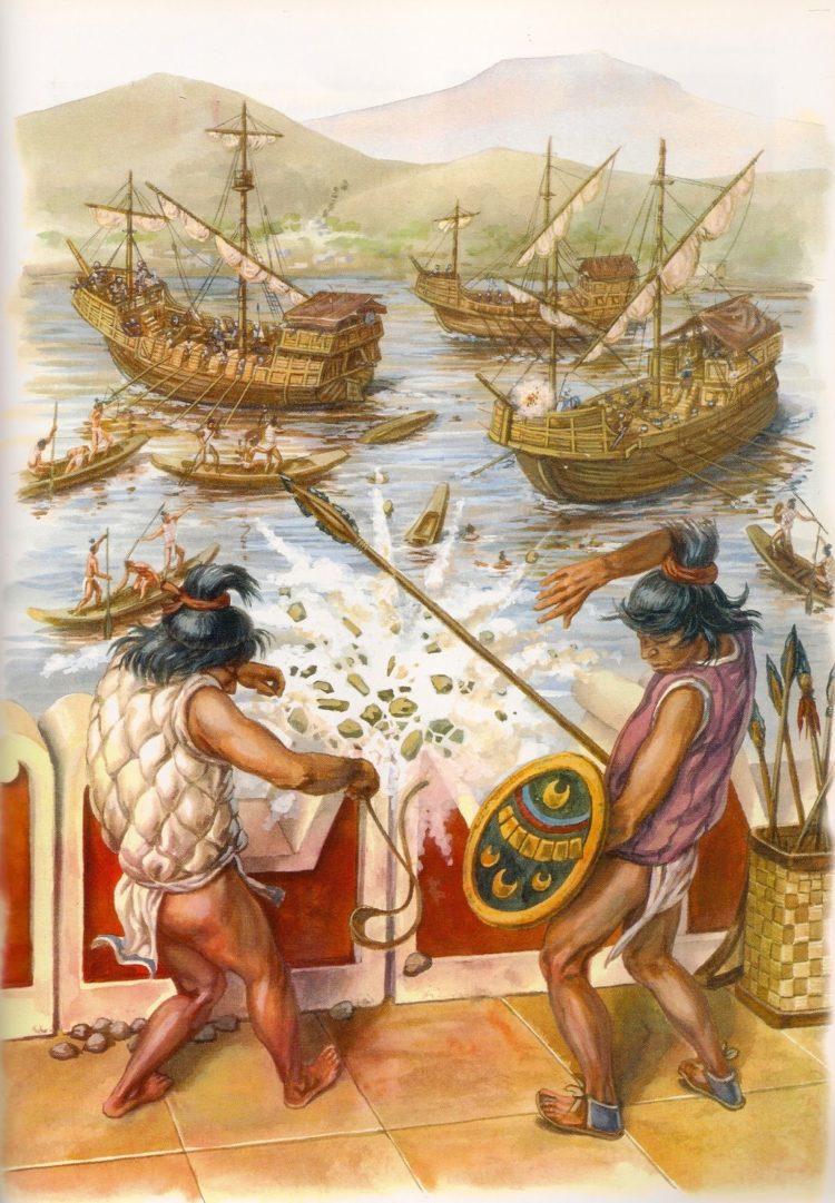La Conquista de Tenochtitlán