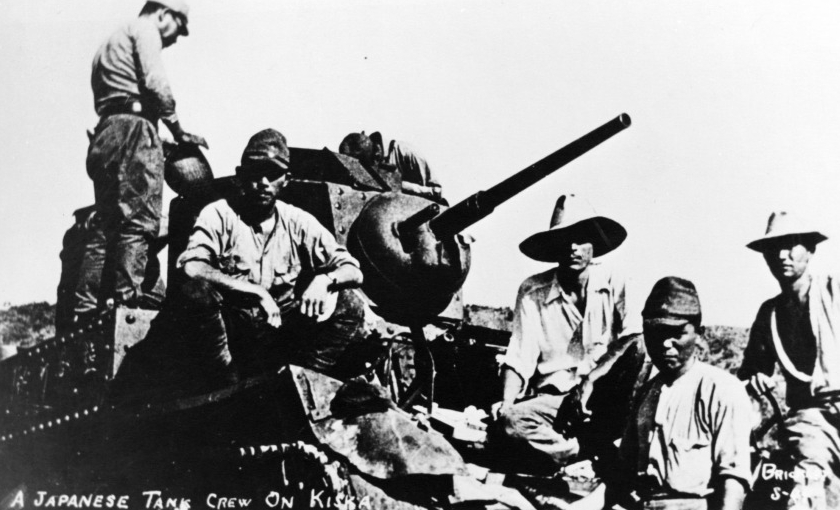 Japón invadió Estados Unidos - Alaska - Tanque