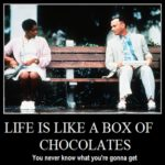 Life is like a Box of Chocolates - Forrrest Gump
