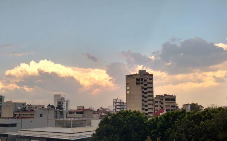 Luz solar - Nubes 1