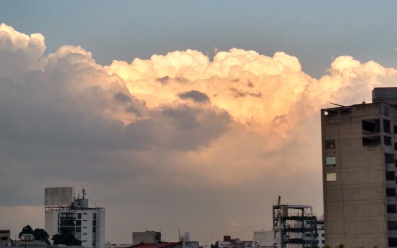 Luz solar - Nubes 3