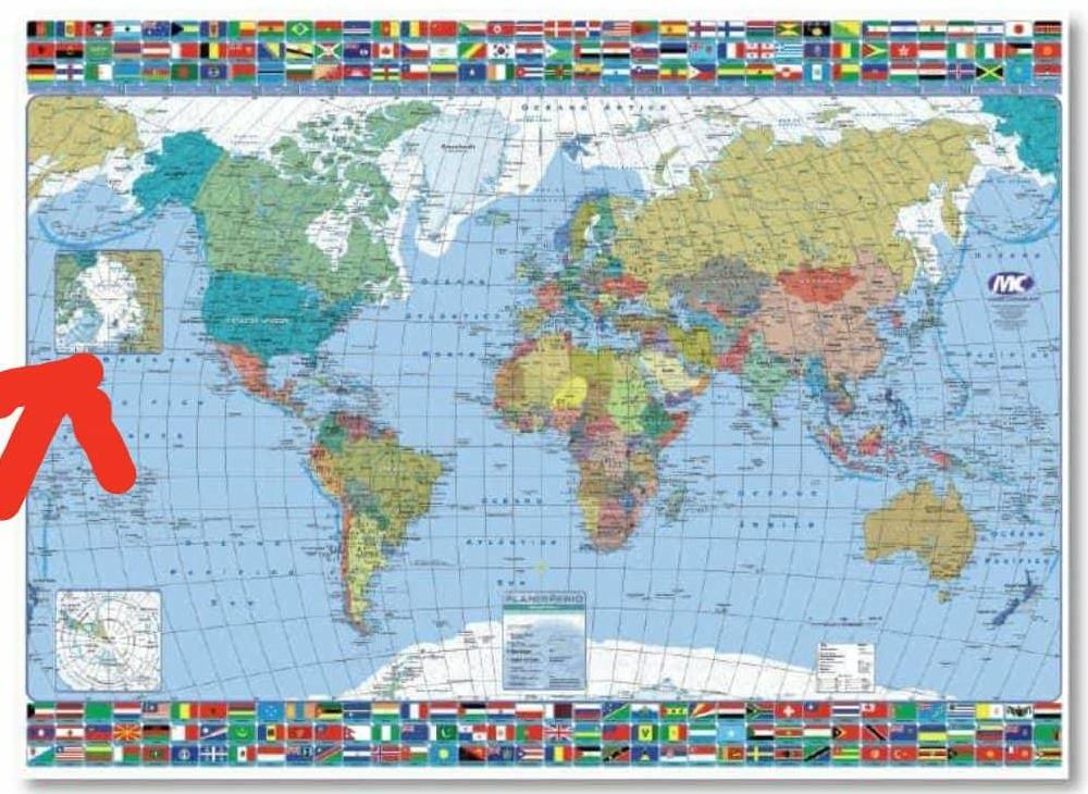 Mapa - Polo Norte 1 - Aportado por Javier
