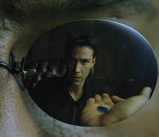 Matrix Blue Pill