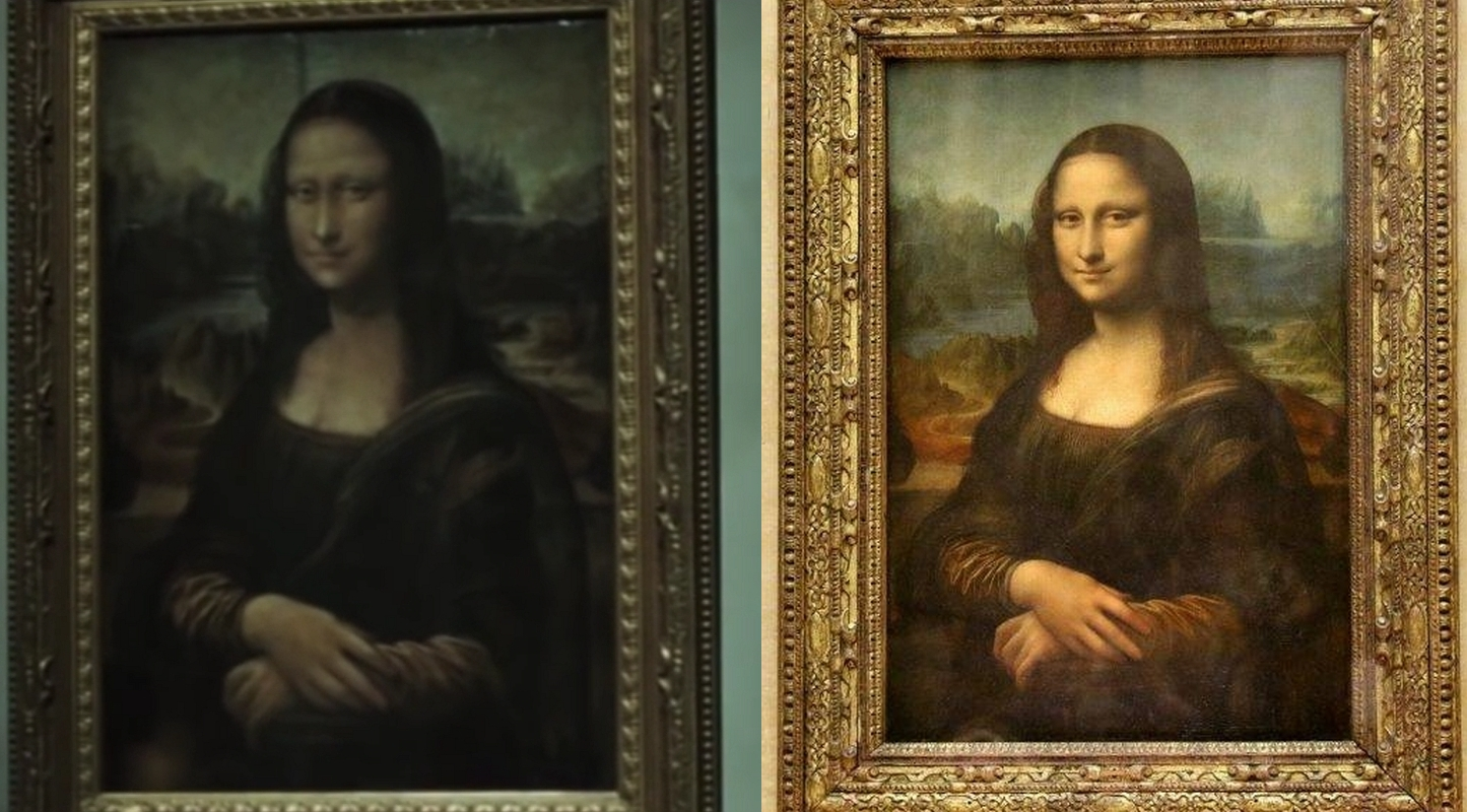 Mona Lisa - Código Da Vinci y original