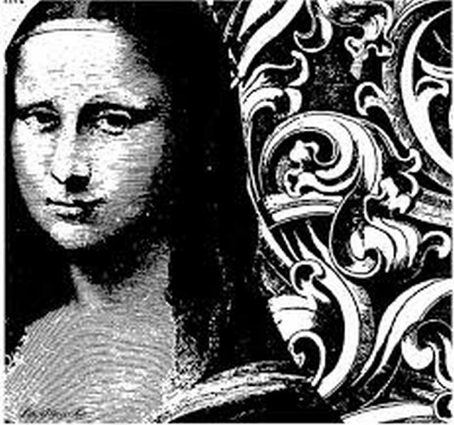 Mona Lisa - Dibujo