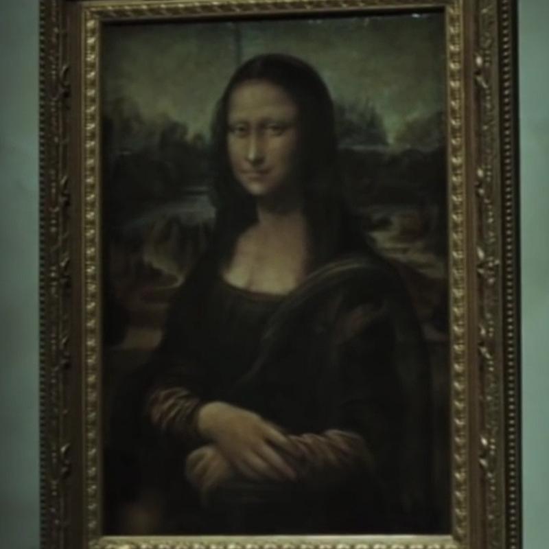 Mona Lisa - Película - Código da Vinci