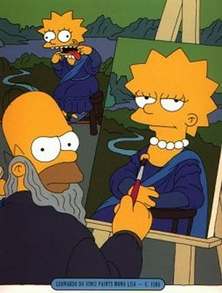 Mona Lisa - Simpsons - 1