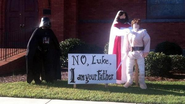 No Luke, I am your Father - 2