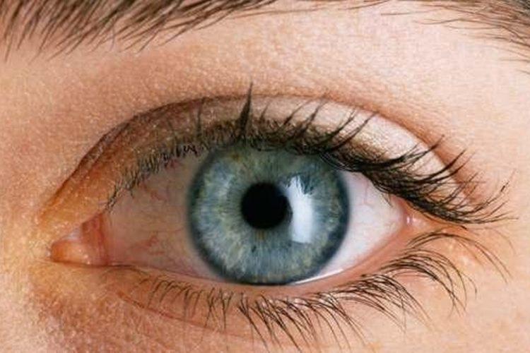 Ojo con línea del Iris