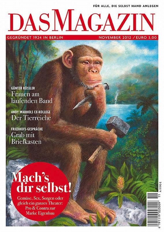 Portada revista Das Magazin - El Pensador