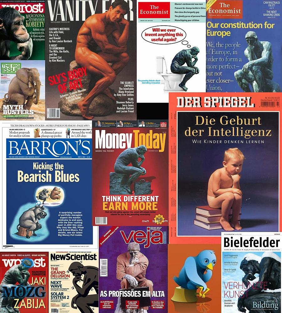 Collage portadas revistas - El Pensador