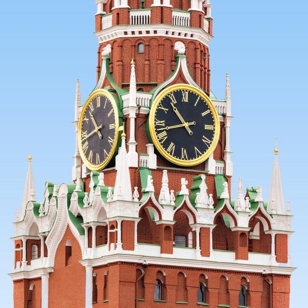 Reloj - Kremlin - Rusia