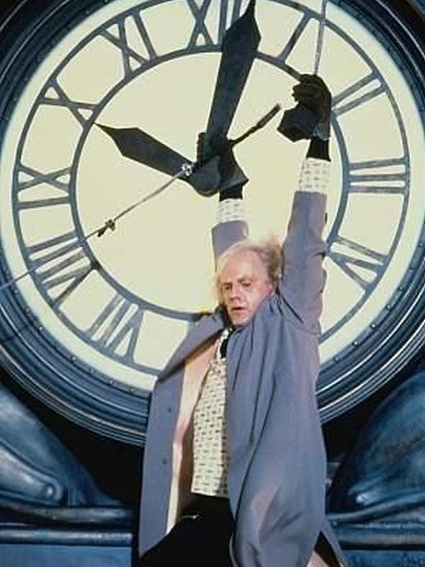Reloj de la Torre - Volver al futuro - Dr. Brown