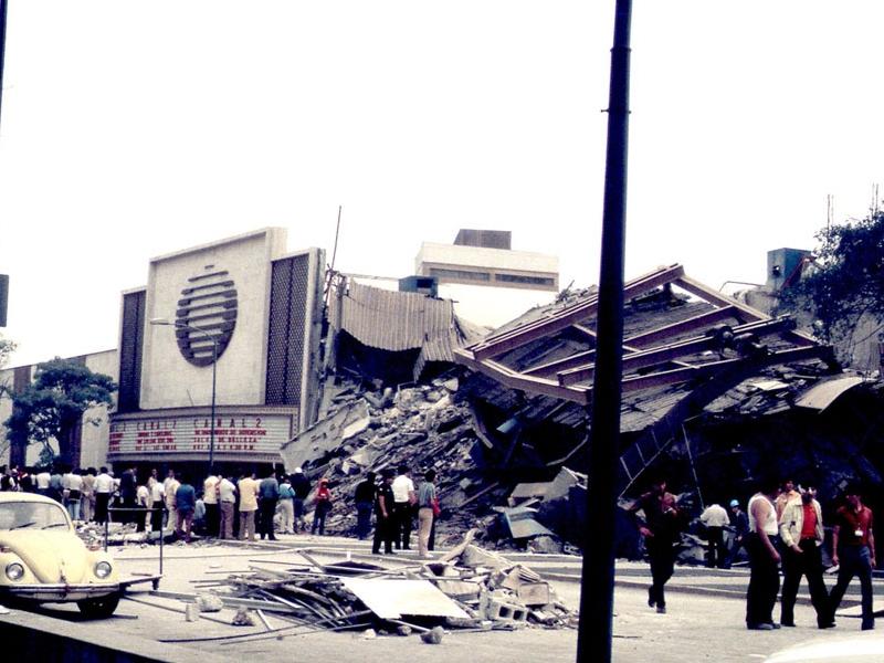Terremoto CDMX 1985 - Televisa