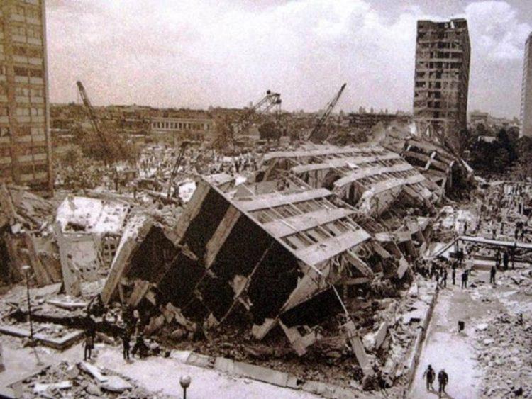 Terremoto CDMX 1985 -Tlatelolco