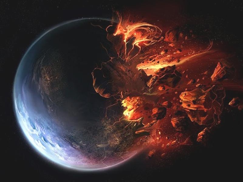 La Tierra fue destruida