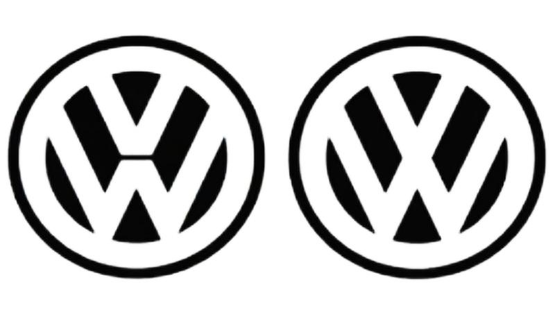 Logo de Volkswagen -Antes y ahora
